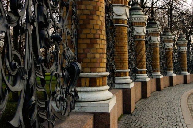 Михайловский сад в Петербурге фото