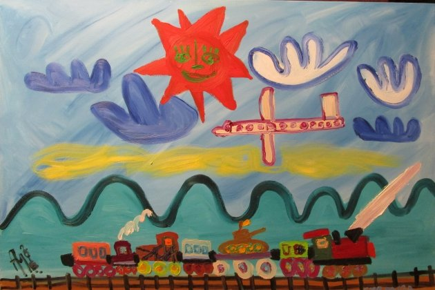 Выставка живописи Артура Молева «УРА»