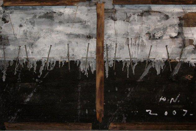 Выставка Юрия Никифорова «Прошитый Горизонт»