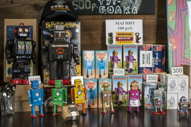 Музей советских игровых автоматов в Петербурге
