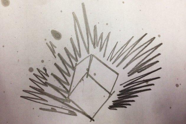 Выставка Петра Белого «Взрыв куба»