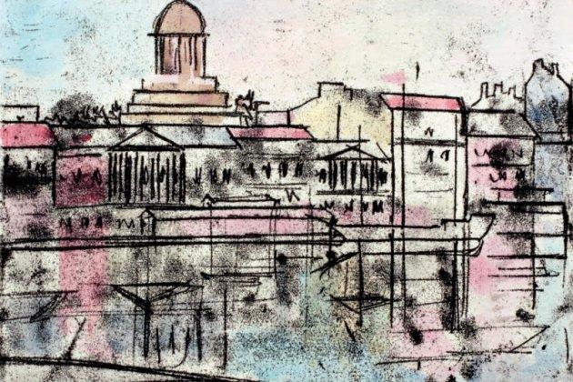 Выставка известного петербургского графика Андрея Бодрова