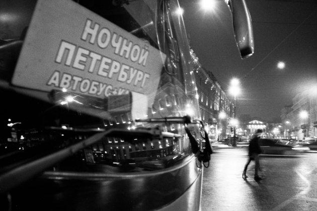 В Петербурге на протяжении трех ночей будут работать автобусы
