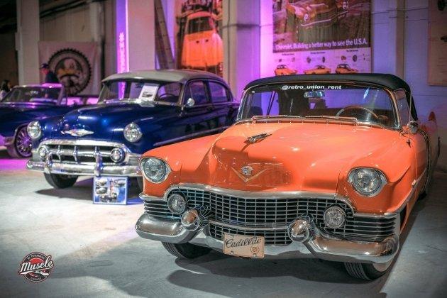f00a35ce56108 Выставка ретро-автомобилей в СПб Muscle Car Show