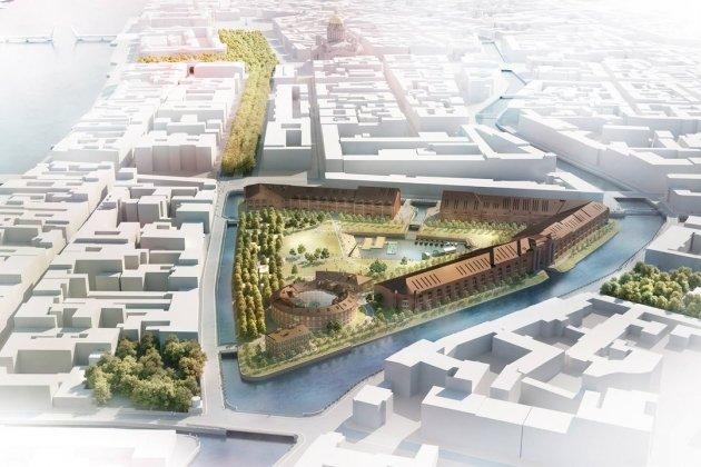 Реконструкцию Новой Голландии продлили до конца 2025 года
