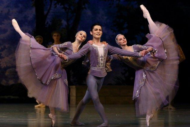 Вечер одноактных балетов: «Шопениана», «Репетиция», «Пахита»