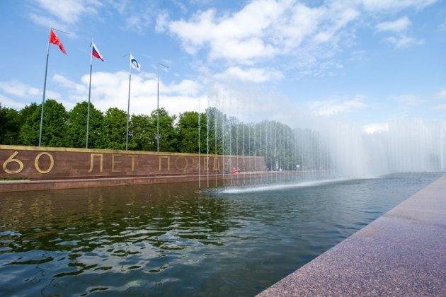Южно-Приморский парк фонтан