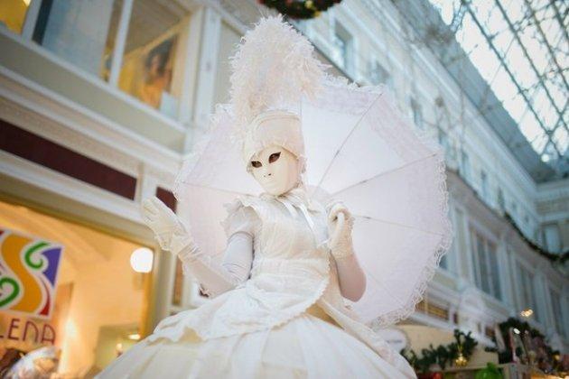 Новогодняя ярмарка в «Пассаже»