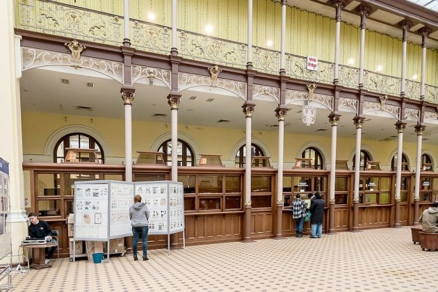 Главный почтамт в Петербурге