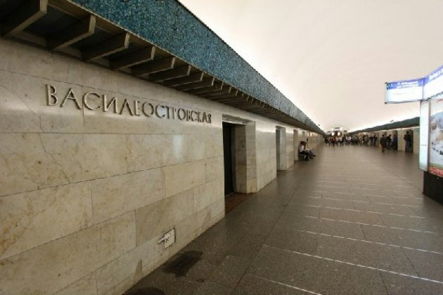 Василеостровская станция метро закрывается на ремонт 7 июля 2015