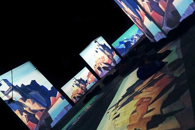 Мультимедийная выставка «Рерих – живые полотна»