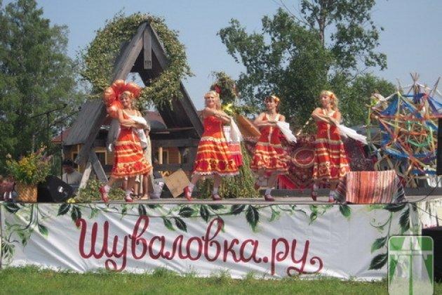 Русская деревня Шуваловка