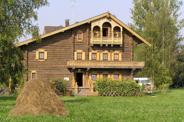 Русская деревня Шуваловка-гостиница