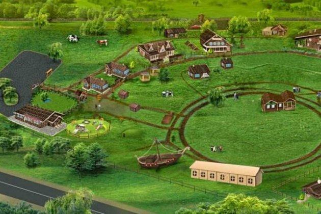 Русская деревня Шуваловка-схема