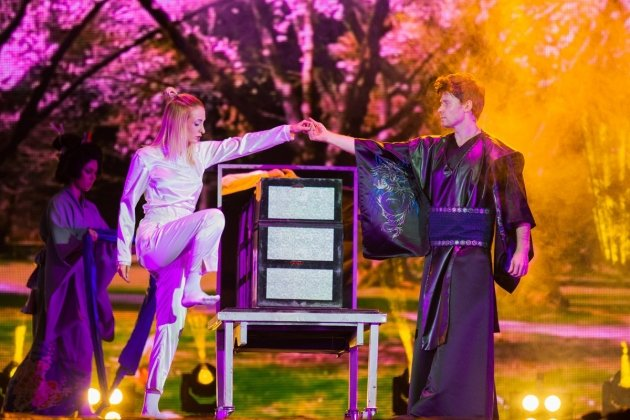 Новое шоу «Молния» от знаменитых иллюзионистов - братьев Сафроновых
