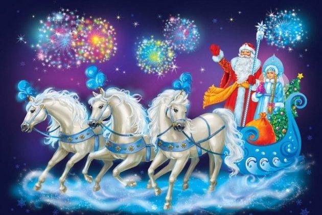 Новогодняя елка «Новогоднее сказочное путешествие»