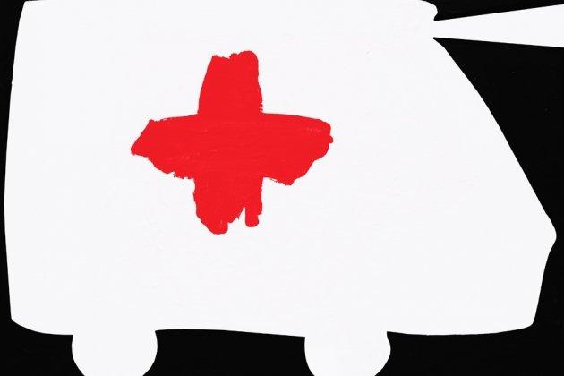 Персональная выставка Марины Колдобской «Красное и черное»