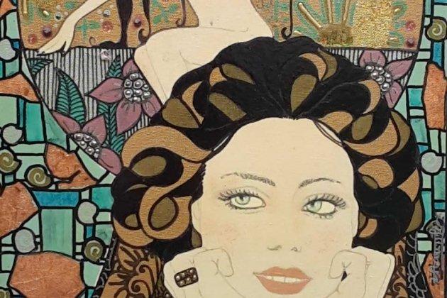 Персональная выставка французской художницы Софи Стэмфер