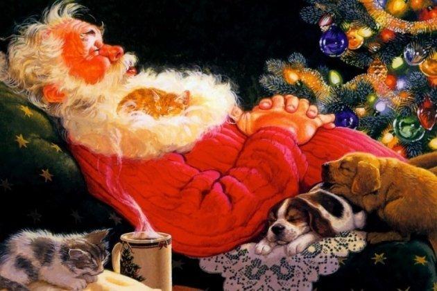 Музыкальная сказка «Сон Деда Мороза»