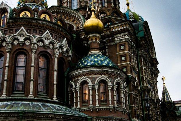 Храма Спас на Крови в Петербурге