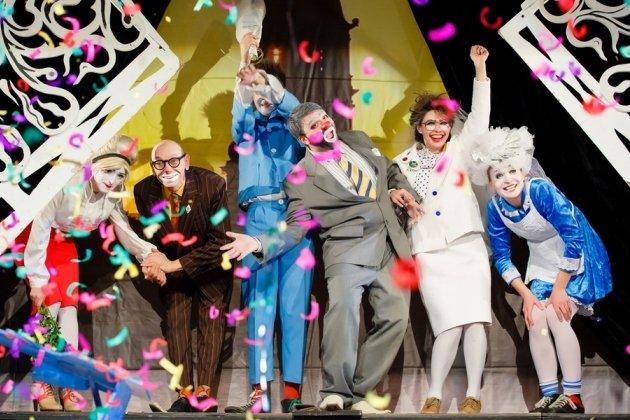 Клоунский спектакль «Old School»