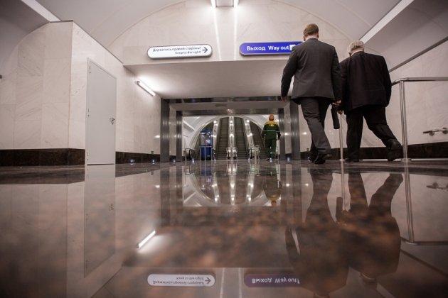 В Петербурге ко Дню города открылась станция метро Спортивная-2