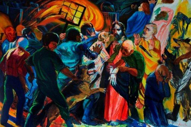 Выставка Дмитрия Марголина «Страсти»