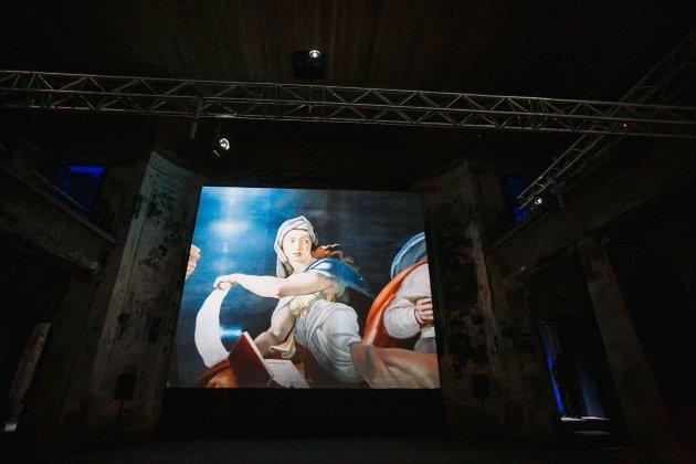 Мультимедийная выставка «Микеланджело. Сотворение мира»
