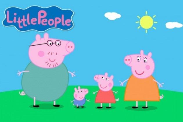 Интерактивное шоу «Свинка Пеппа собирает друзей»
