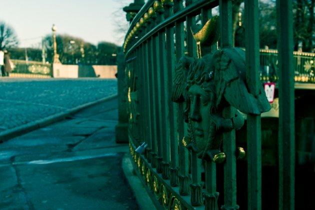 Театральный мост в питере