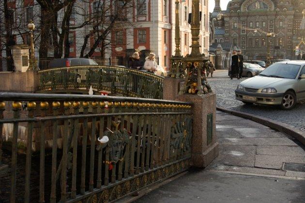 Театральный мост в Спб