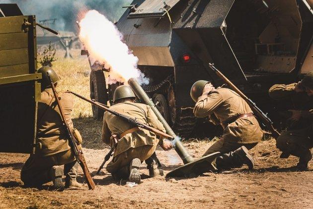 Военно-исторический фестиваль «Застава, в ружье!»