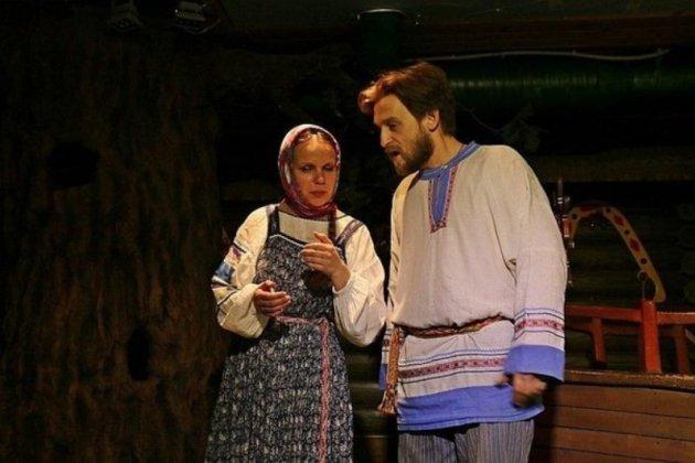 Спектакль «Сказка о Василисе-мастерице и злой Бабе-яге»