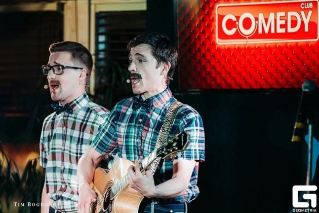 Открытие весеннего сезона «Comedy Club»