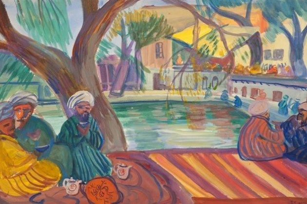 Выставка «Виктор Борисов-Мусатов и мастера общества «Голубая роза»