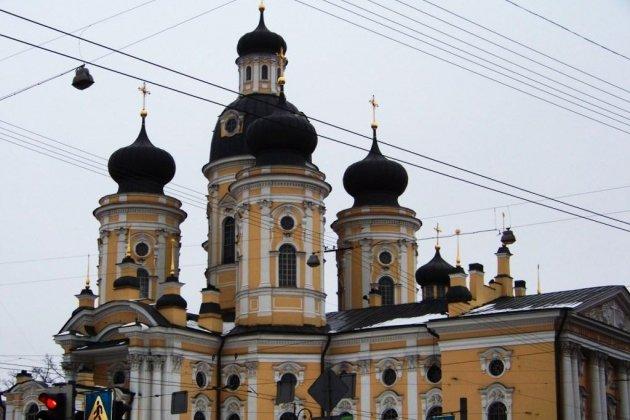 Владимирский собор в Петербурге фото