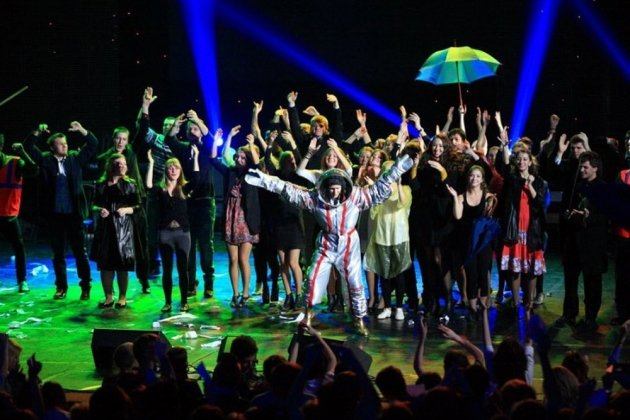 Финал фестиваля студенческого творчества «Я – молодой!»