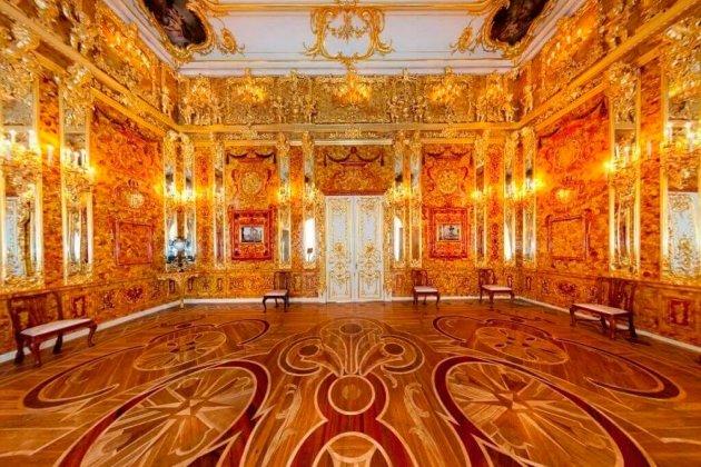 Янтарная комната в Пушкине