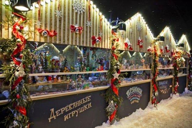 Рождественская ярмарка на Московской площади