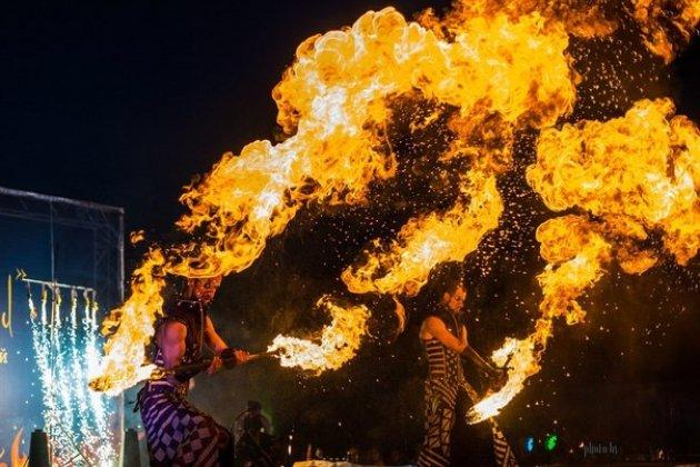 Гала-концерт Фестиваля огненных искусств «Живые огни»